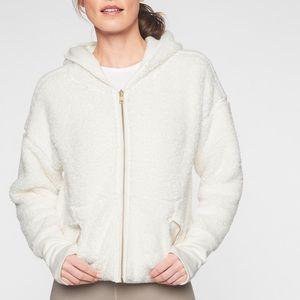 Athleta reversible Sherpa jacket